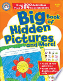 Big Book of Hidden Pictures and More   Grades PK   1