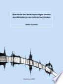 Geschichte der deutschsprachigen Literatur des Mittelalters in den böhmischen Ländern
