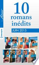 10 romans in  dits Azur  no 3595    3604   juin 2015