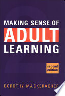Making Sense of Adult Learning