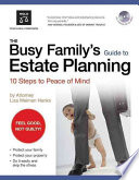 Busy Family s Guide to Estate Planning  The
