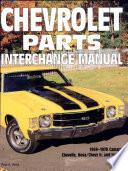 Chevrolet Parts Interchange Manual  1959 1970