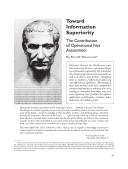 Toward Information Superiority