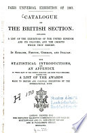 Catalogue of the British Section