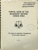 Portal Zone of the Boundary Waters Canoe Area
