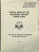 Portal Zone of the Boundary Waters Canoe Area