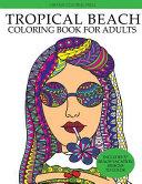 Tropical Beach Coloring Book