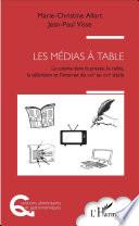 illustration Les médias à table