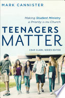 Teenagers Matter  Youth  Family  and Culture