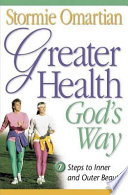 Greater Health God s Way Book PDF