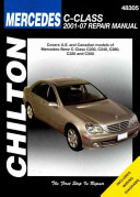 Chilton's Mercedes-Benz C-Class 2001-07 Repair Manual