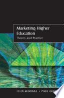 Marketing Higher Education