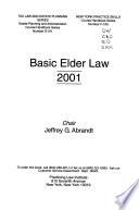 Basic Elder Law