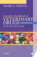 Saunders Handbook Of Veterinary Drugs E Book