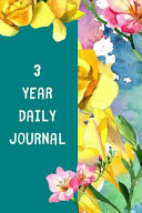 3 Year Daily Journal