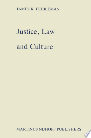 Justice, Law and Culture - ISBN:9789401094498