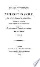 Voyage pittoresque à Naples et en Sicile