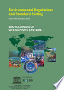 Environmental Regulations and Standard Setting