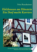 Holzhausen Am H Nstein Ein Dorf Macht Karriere