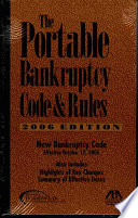 The Portable Bankruptcy Code and Rules