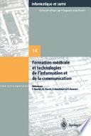 illustration Formation médicale et technologies de l'information et de la communication