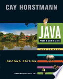 Java For Everyone  Compatible with Java 5  6  and 7  2nd Edition