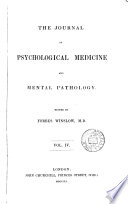 The Journal of Psychological Medicine and Mental Pathology