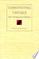 Constituting Critique