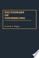 Dictionary Of Counseling