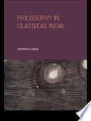 Philosophy in Classical India