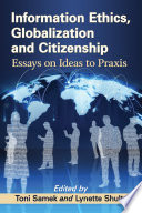 Information Ethics  Globalization and Citizenship