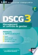DSCG 3 Management et contr  le de gestion Manuel et applications 7e   dition