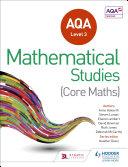 AQA Level 3 Certificate in Mathematical Studies
