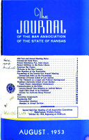 The Journal of the Bar Association of the State of Kansas