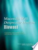 Macondo Well Deepwater Horizon Blowout