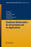 download ebook nonlinear mathematics for uncertainty and its applications pdf epub