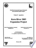 Kern River 2003 Expansion Project