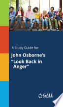 download ebook a study guide for john osborne's