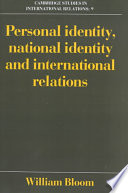 Personal Identity  National Identity and International Relations