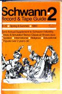 Schwann 2  Record   Tape Guide