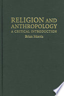 illustration Religion and Anthropology, A Critical Introduction