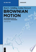 Brownian Motion book