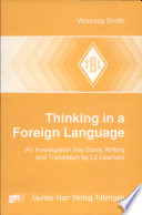Thinking in a Foreign Language