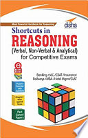 Shortcuts in Reasoning  Verbal  Non Verbal   Analytical  for Competitive Exams with 3 Ebooks