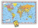 Rand McNally Kids Illustrated World Wall Map