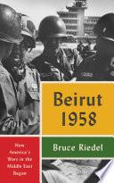 Beirut 1958 Book PDF
