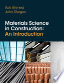 Materials Science In Construction  An Introduction