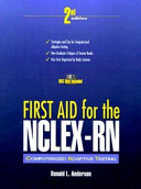 First Aid for the NCLEX RN Computerized Adaptive Testing