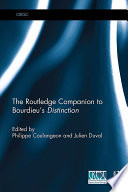 The Routledge Companion to Bourdieu   s  Distinction