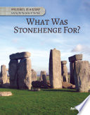 What Was Stonehenge For  Book PDF